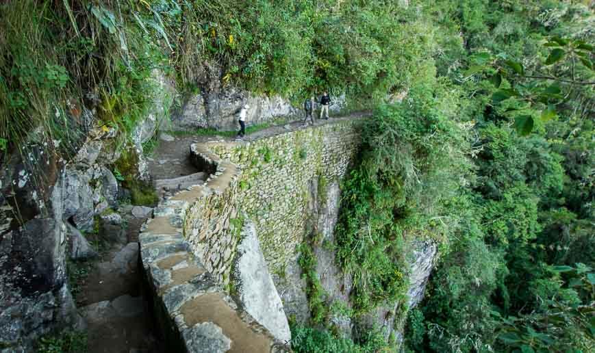 An airy hike to the Inka Bridge