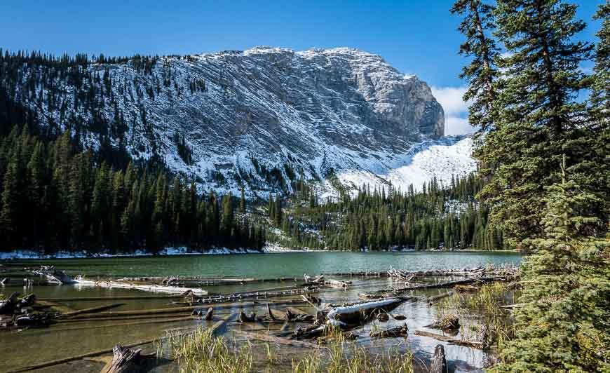 First views of Lillian Lake