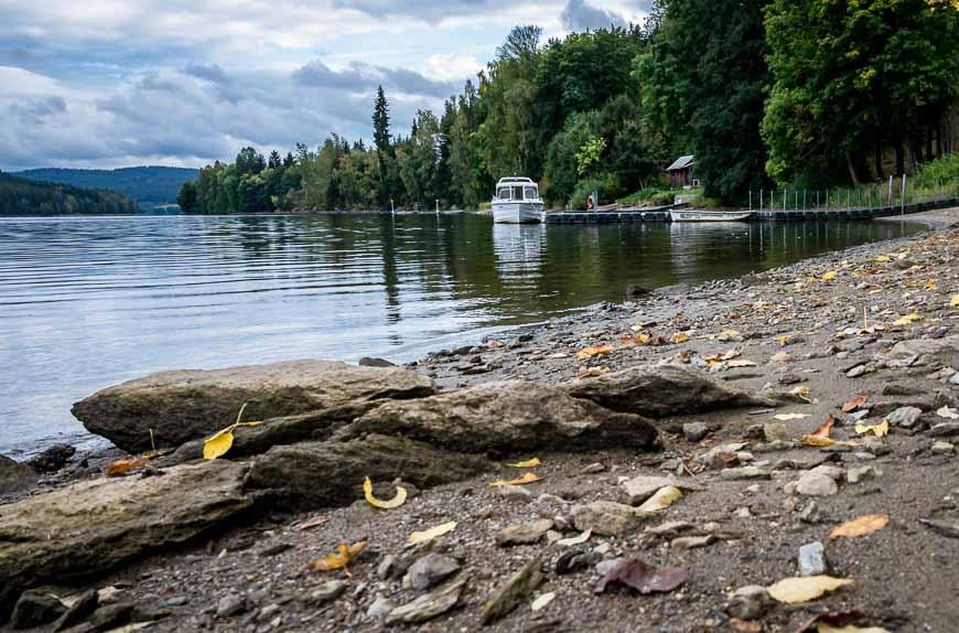 Enjoy an active holiday on the Lipno Reservoir