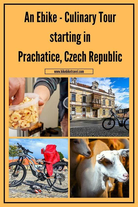 Prachatice ebike and culinary tour