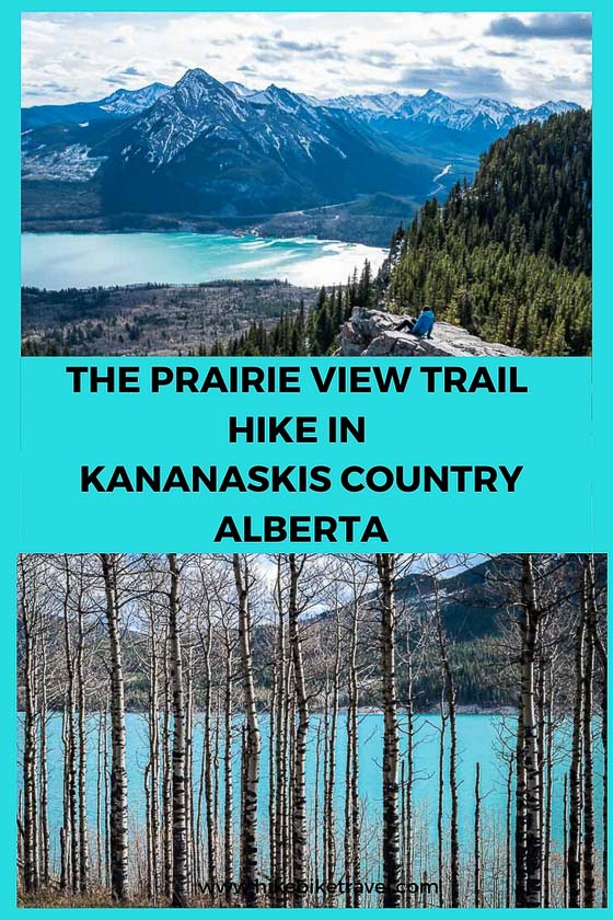 Prairie View trail hike in Kananaskis Country, Alberta