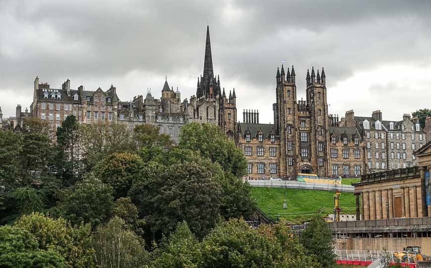 Edinburgh, one of the world's great cities