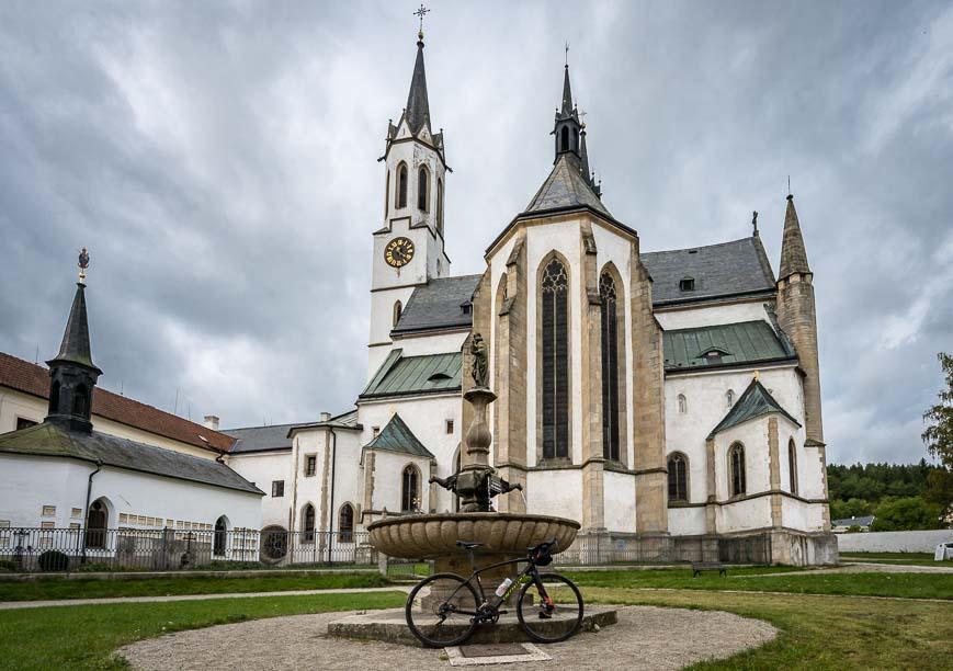 Vyšši Brod Monastery