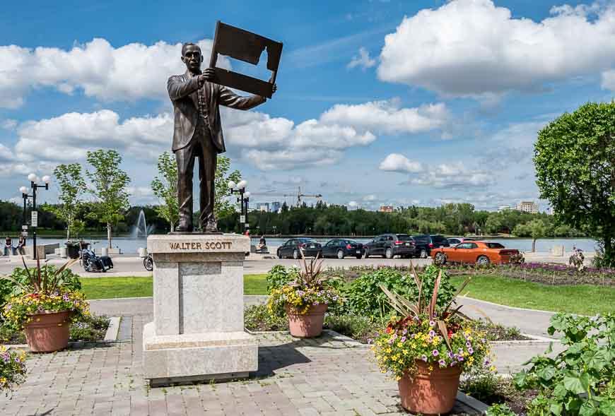 Walter Scott - the first premier of Saskatchewan