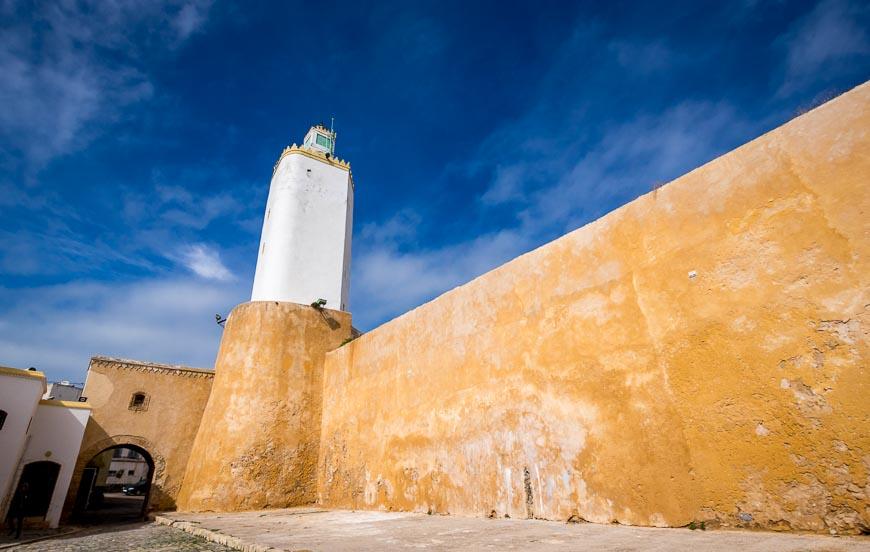 Colouful walls in El Jadida