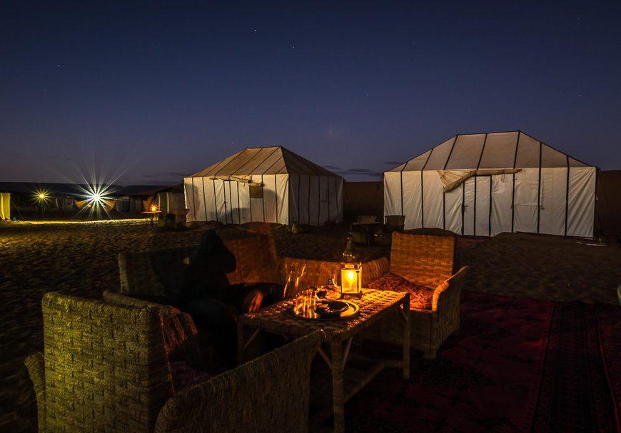 Stay overnight in the Sahara Desert
