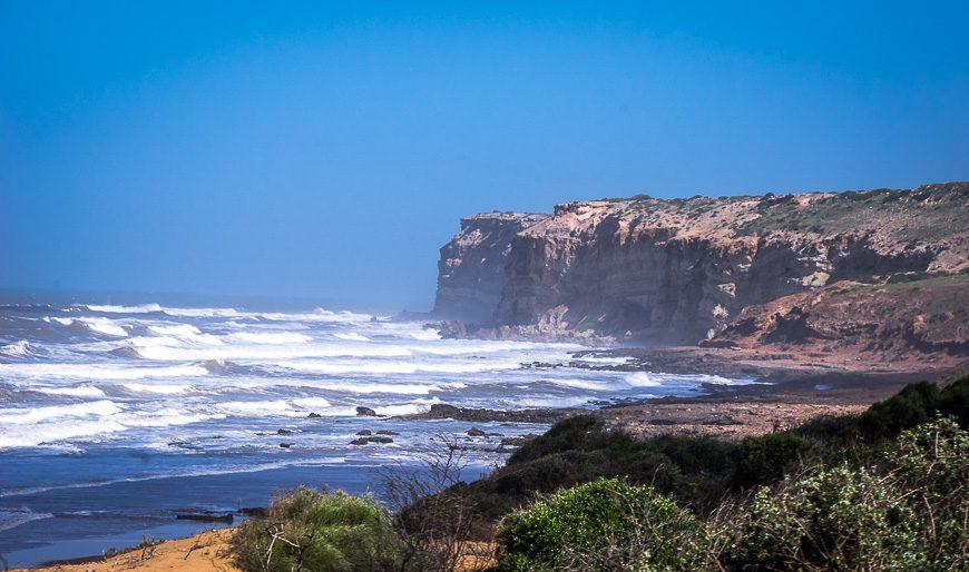 The coast north of Essaouira