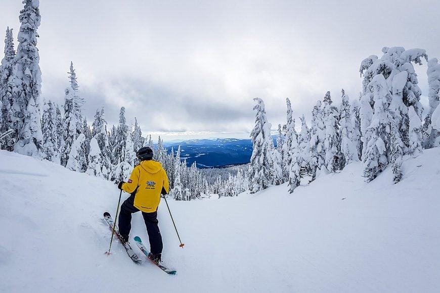 Fantastic skiing and boarding at Big White