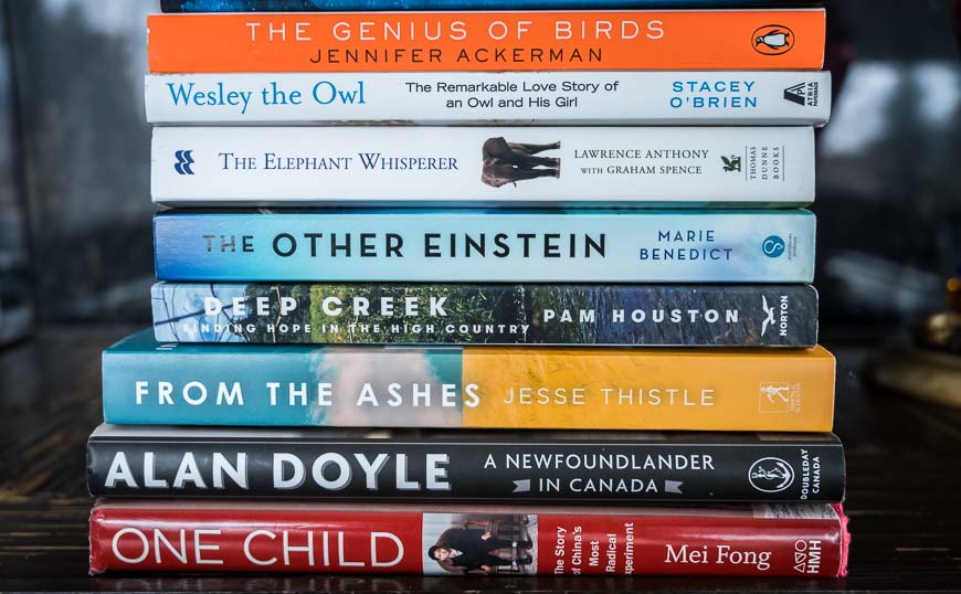 Some of the books I've read that will take your mind off the virus