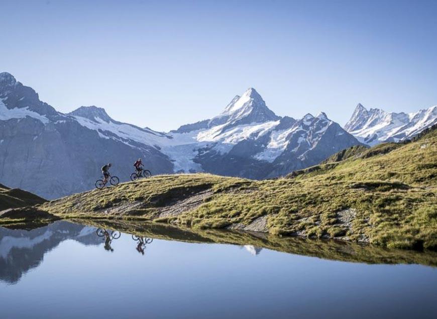Mountain views from Grindelwald, Switzerland