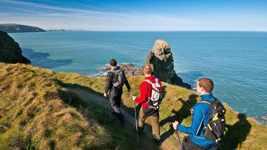 Pembrokeshire Coast Path, South Wales