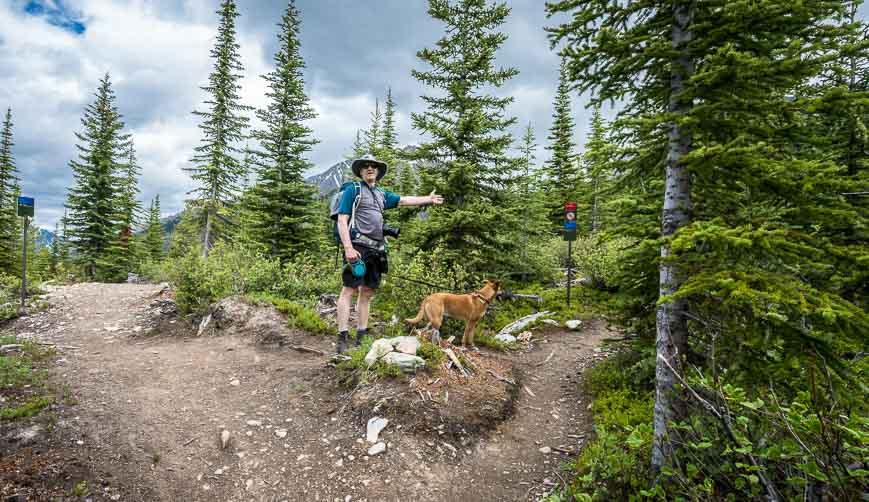 Leaving the High Rockies Trail