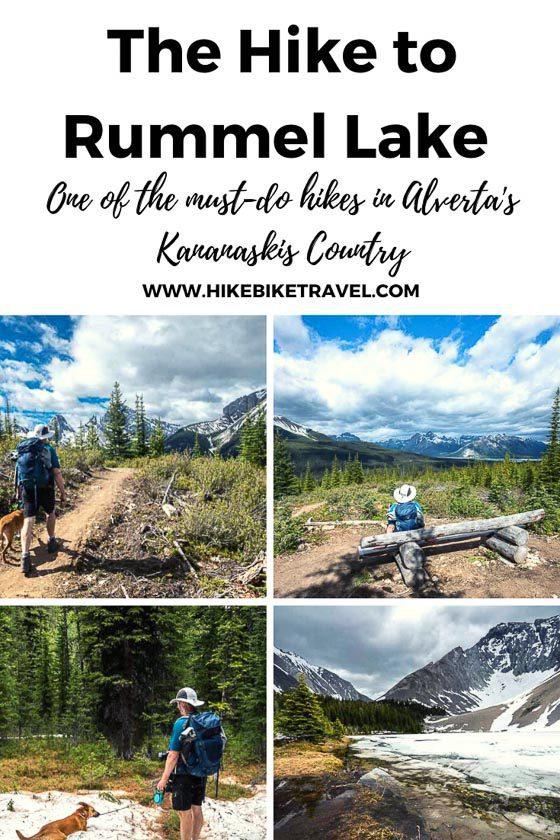 The Rummel Lake hike in Kananaskis Country, Alberta