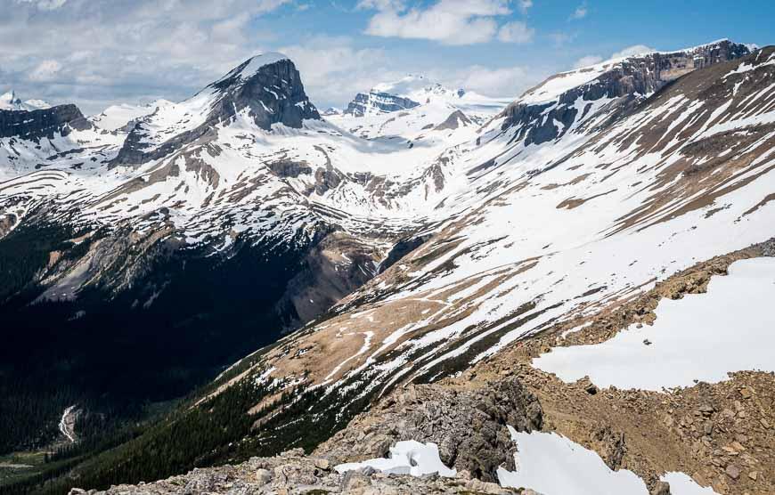 Glorious, expansive mountain views