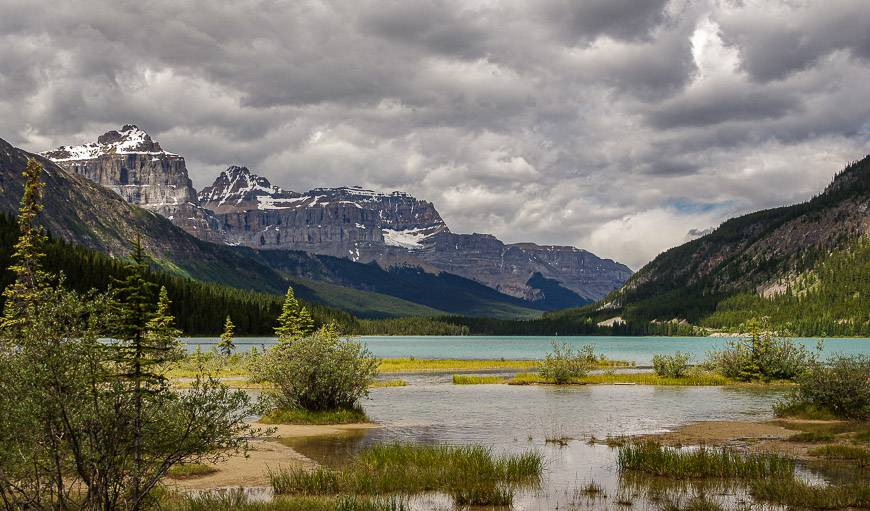 Waterfowl Lakes on the Icefields Parkway