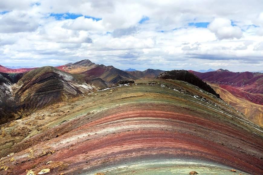 Walking on rainbows in Peru