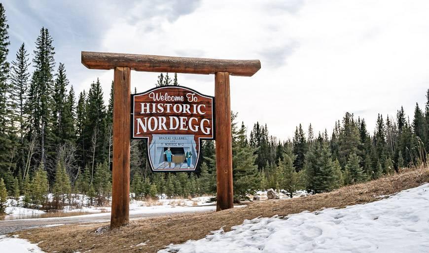 Welcome to Nordegg Alberta