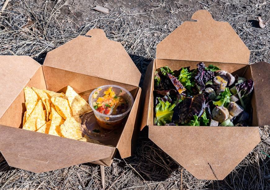 The Nordegg Canteen produces delicious take-away food