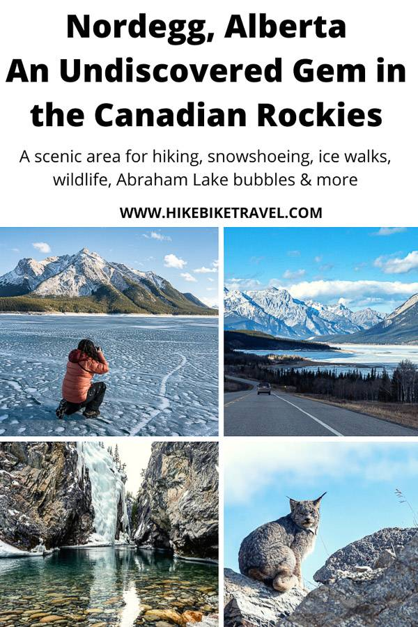 Nordegg Alberta - an undiscovered gem in the Canadian Rockies that is idea for the outdoor and nature lover with mountain scenery that's almost the equal of Banff