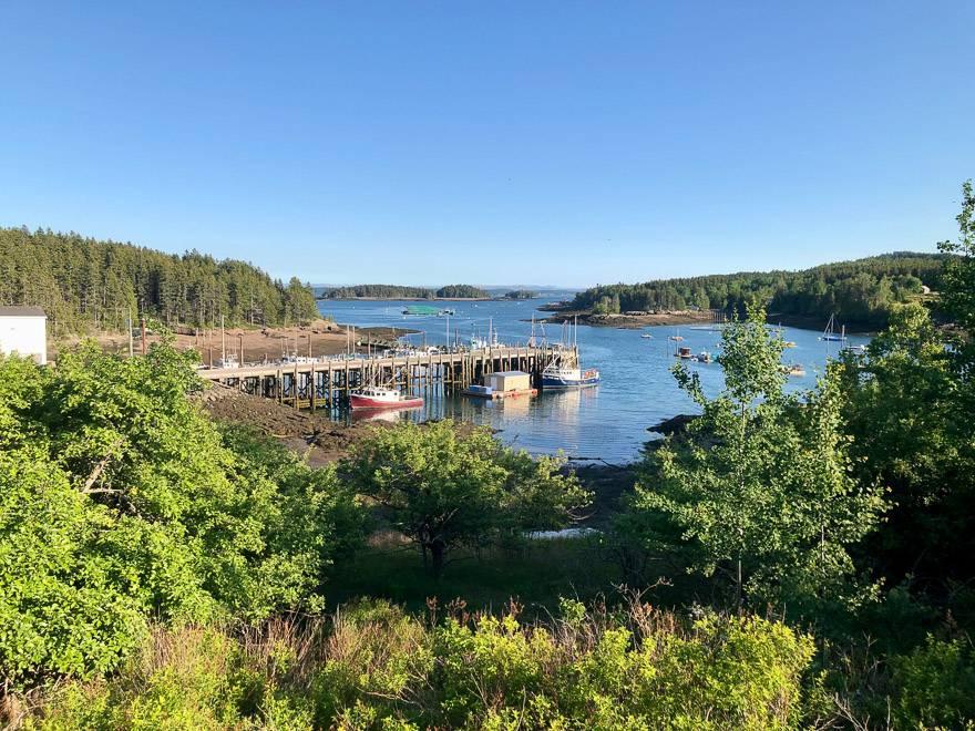 Deer Island fishing boats
