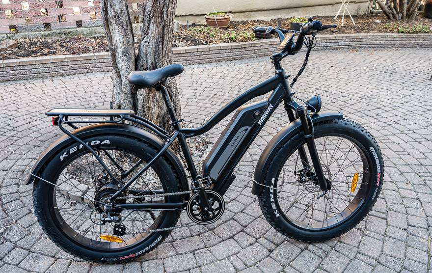 Th Handsome Himiway Cruiser Electric Fat Bike
