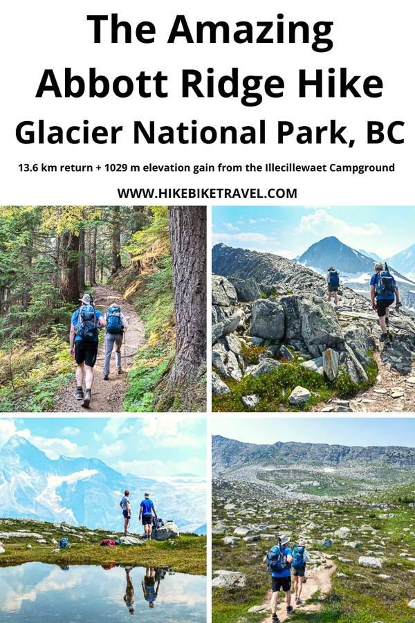 The outstanding Abbott Ridge hike in Glacier National Park, BC