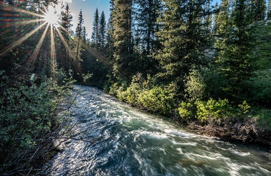 Pretty scene over Brewster Creek