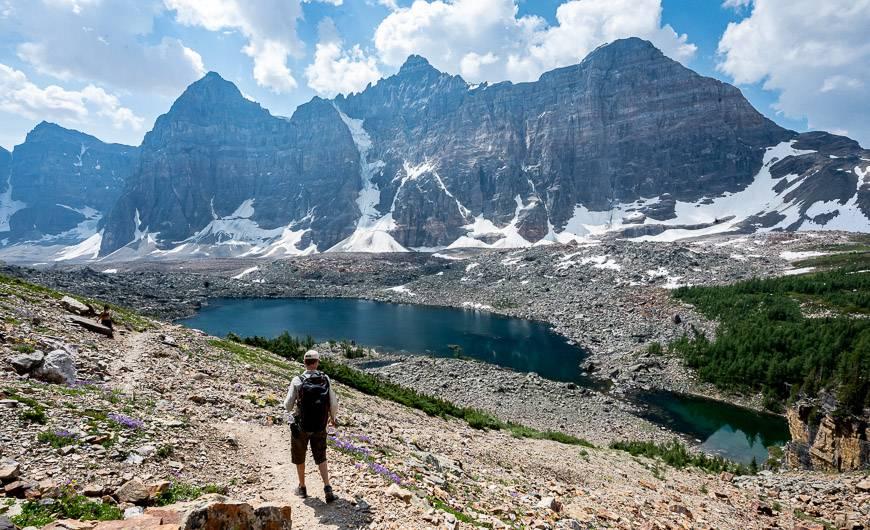 The return hike is equally pretty