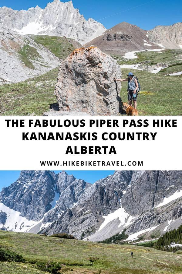 The fabulous Piper Pass hike in Kananaskis Country, Alberta