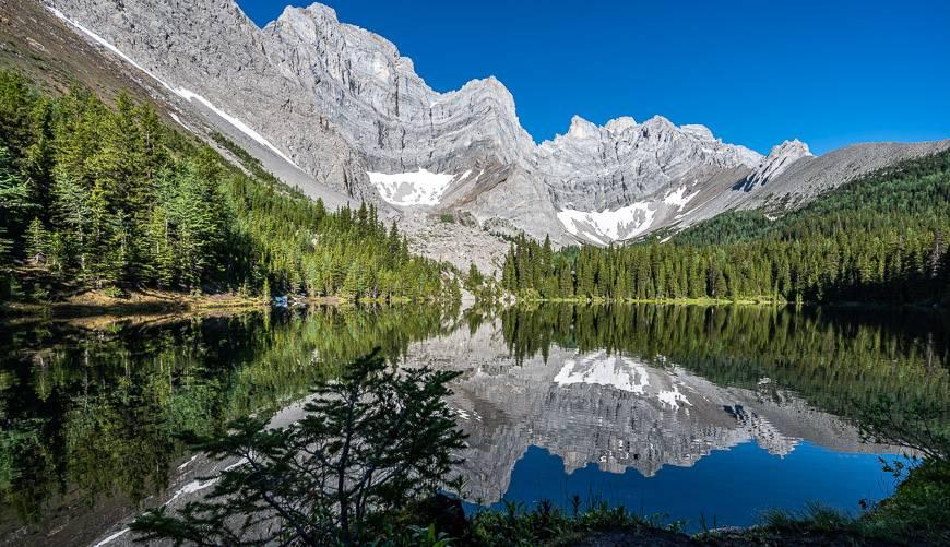 Upper Tombstone Lake In Kananaskis Country, Alberta