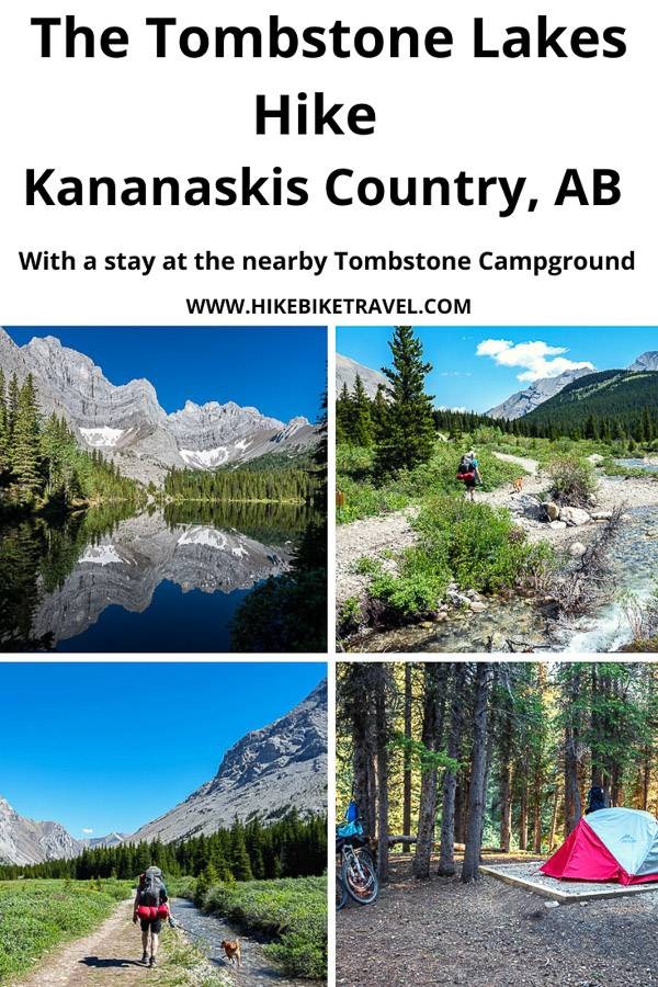 The Tombstone Lakes hike in Kananaskis Country, Alberta with a stay at the Tombstone Backcountry Campground