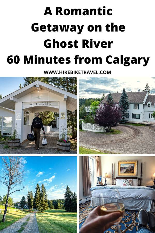 A romantic getaway to The Crossing on the Ghost River, justt 60 minutes from Calgary