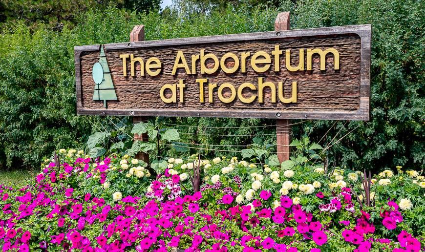 The Arboretum at Trochu