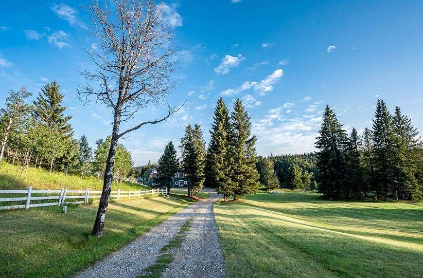 The Crossing Is Located On A Stunning Piece Of Property On The Ghost River Near Cochrane