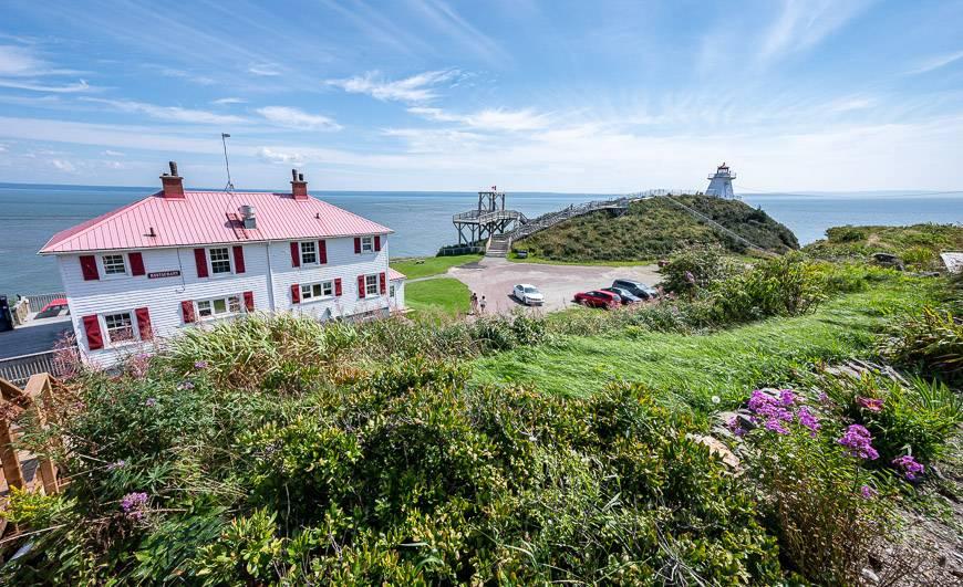 Cape Enrage enjoys a spectacular setting