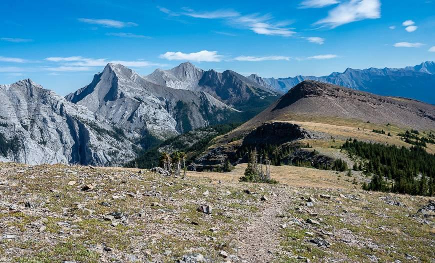 Superb mountain views on the Pigeon Mountain hike