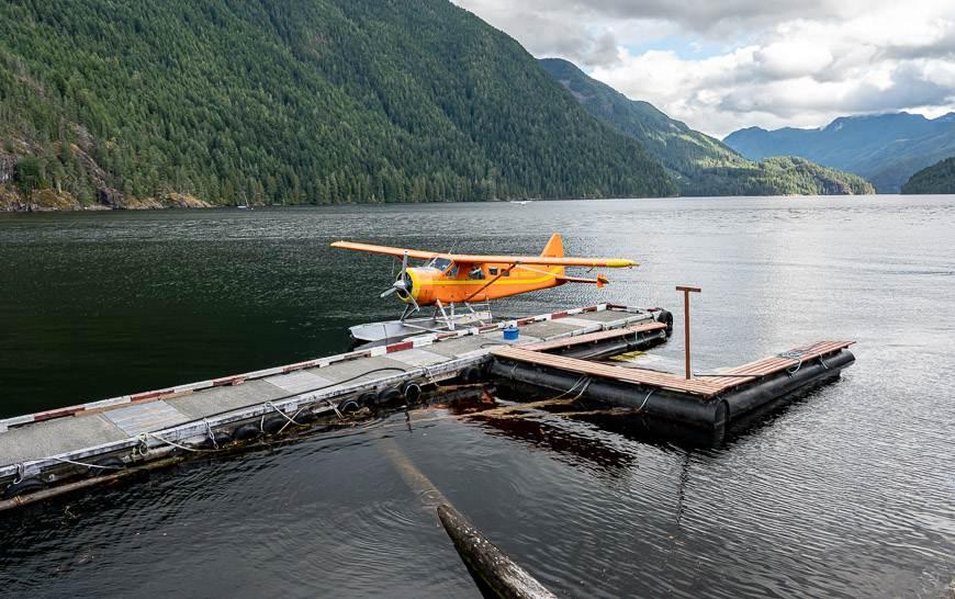 Flying to Nootka Island via Nootka Air